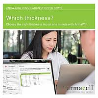 Armacell Know-how // Calculate insulation thickness