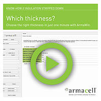 Armacell Know-how // Insulation stripped down // Condensation control for new projects