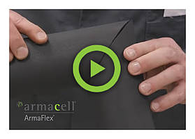 Watch a video to learn how to install ArmaFlex elastomeric foam tubes on a 45 or 90 degree bend