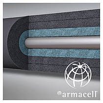 Thermal insulation with metal cladding -ArmaFlex® Cryogenic System