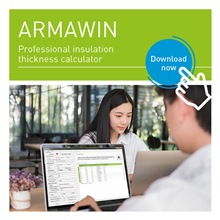Insulation calculator for thermal insulation products - ArmaWin